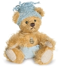 peluche Ours teddy de collection Baby boy 10 cm