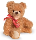peluche Ours Teddy de collection abricot 18 cm