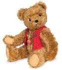peluche Ours Teddy de collection Fred 40 cm