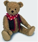 peluche Ours Teddy de collection Andrè 37 cm