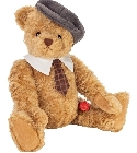 peluche Ours Teddy de collection Hermann 66 cm