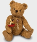 peluche Ours Teddy de collection Albrecht 27 cm