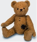 peluche Ours Teddy de collection Eberhard 34 cm