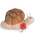 peluche Peluche de collection escargot 6 cm