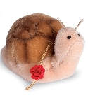 peluche Peluche de collection escargot 8 cm