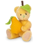 peluche Ours en peluche de collection poire 27 cm