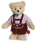 peluche Ours de collection Thomas 27 cm