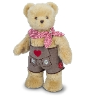 peluche Ours Teddy de collection Schorsch 53 cm