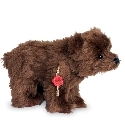 peluche Ours de collection grizzli 23 cm