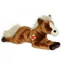 Peluche cheval marron Hermann 51 cm