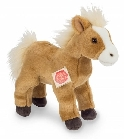 Peluche cheval blond Hermann 25 cm