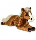 peluche Peluche cheval marron Hermann 70 cm