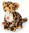 peluche Peluche jaguar assis Hermann Teddy 27 cm