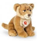 Peluche lionne assise Hermann Teddy 27 cm