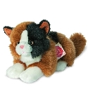 Peluche Chat Herman tricolore 20 cm