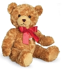 Ours en peluche teddy or 40 cm sonore