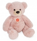 Ours en peluche rose chiné 40 cm Hermann