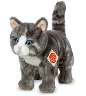 Peluche chat tigré Hermann 20 cm