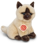 Peluche chat siamois assis Hermann 20 cm