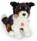 peluche Peluche chien border collie assis 30 cm
