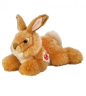 Peluche lapin or allongé Hermann Teddy 25 cm
