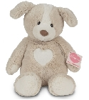 peluche Doudou Hermann chien Holly 30 cm