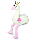 peluche Doudou Hermann cygne Moonlight 40 cm