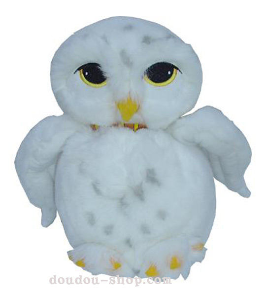 Impression de l 39 article peluche hedwige la chouette messager chez doudou - Harry potter chouette ...