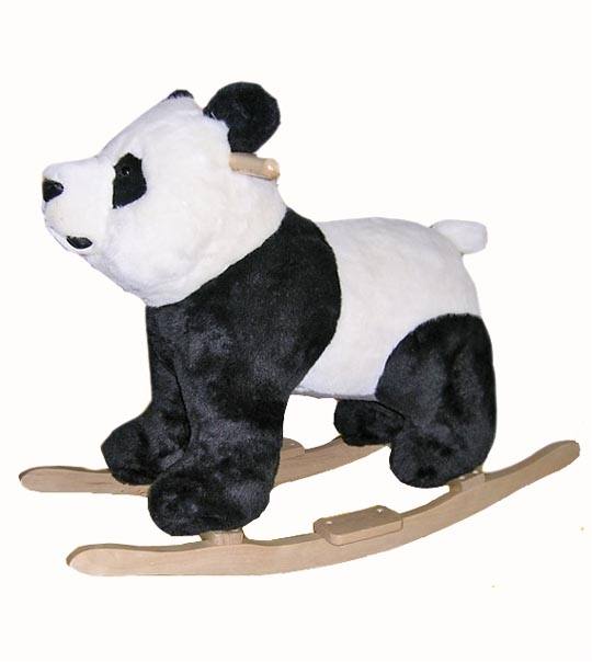 impression de l 39 article peluche panda bascule chez. Black Bedroom Furniture Sets. Home Design Ideas