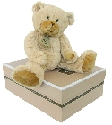 peluche Calin'ours beige 25 cm