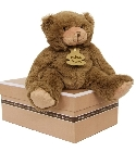 peluche Calin'ours marron 35 cm
