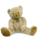 peluche Calin'ours g�ant beige 80 cm