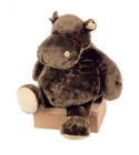 peluche Peluche Hippo G�ant histoire d'ours