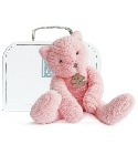 peluche Chat rose Sweety couture 38 cm