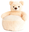 peluche Fauteuil ours champagne Histoire d'Ours