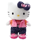 Peluche Hello Kitty apprend � s'habiller
