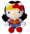 peluche Peluche Hello Kitty Wonderwoman 27 cm