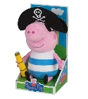 Peluche George pirate 25 cm