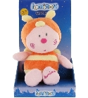 Peluche Papillou Luminou Abeille orange