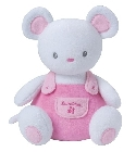 Peluche Luminou souris rose 25 cm