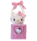 peluche Peluche Saint Valentin Hello Kitty rose