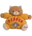 peluche Doudou Kaloo Sweet Life chat bisous