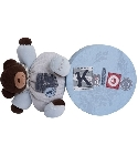 Doudou Kaloo Blue Denim ours costaud