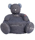 Doudou Kaloo Blue Denim ours maxi sofa