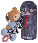Doudou Kaloo Blue Denim zig music ourson