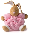 peluche Kaloo Plume lapin medium rose