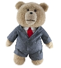 peluche Peluche Ted parlant costume 30 cm