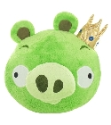 peluche Peluches Angry Birds cochon vert 30 cm