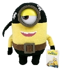 Peluche Minion pirate 28 cm
