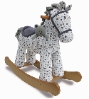 peluche Cheval � bascule Dylan et Boo